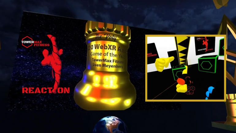 Die XR-Einheit Reaction gewann die The Polys – WebXR Awards für das Spiel des Jahres!
