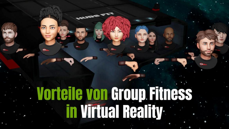 Was sind die Vorteile von Virtual Reality Group Fitness Kursen?